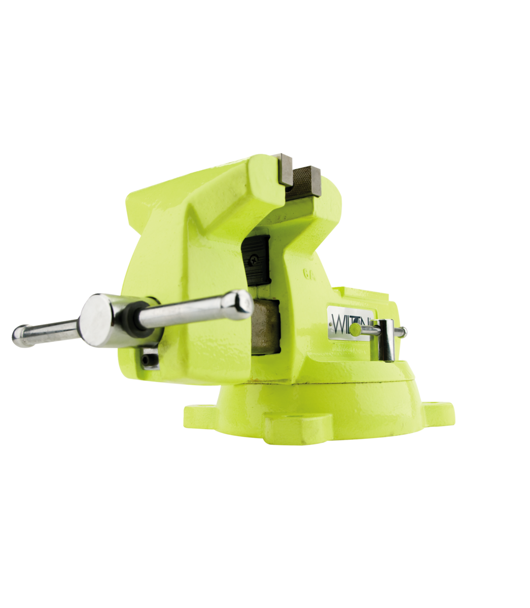 "Manual: 1550, High-Visibility Safety 5"" Vise with Swivel Base"