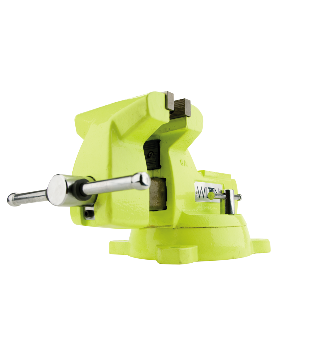 "Manual: 1560, High-Visibility Safety 6"" Vise with Swivel Base"