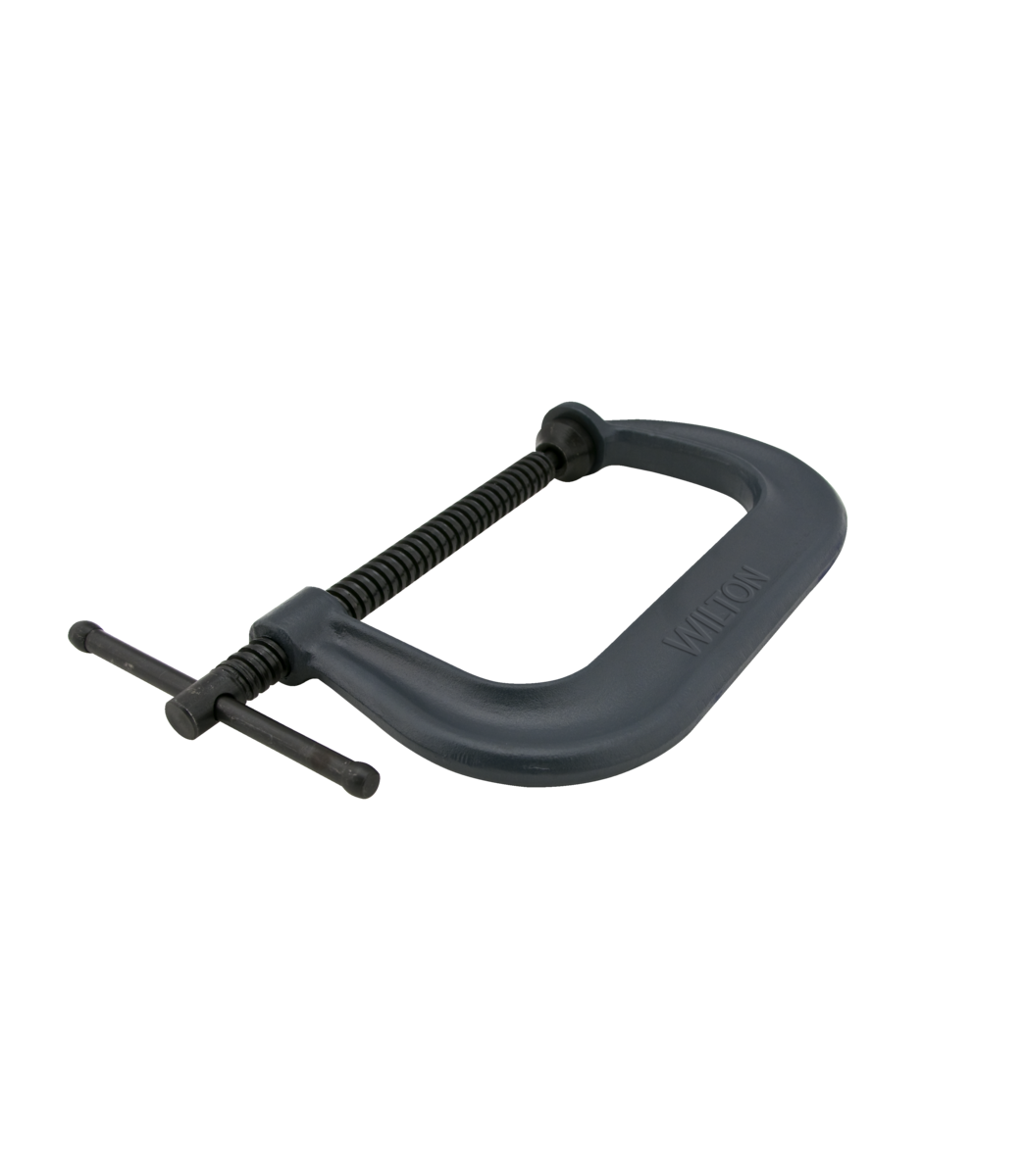 "Drop Forged C-Clamp, 0 - 6-1/16"" Opening, 4-1/8"" Throat"