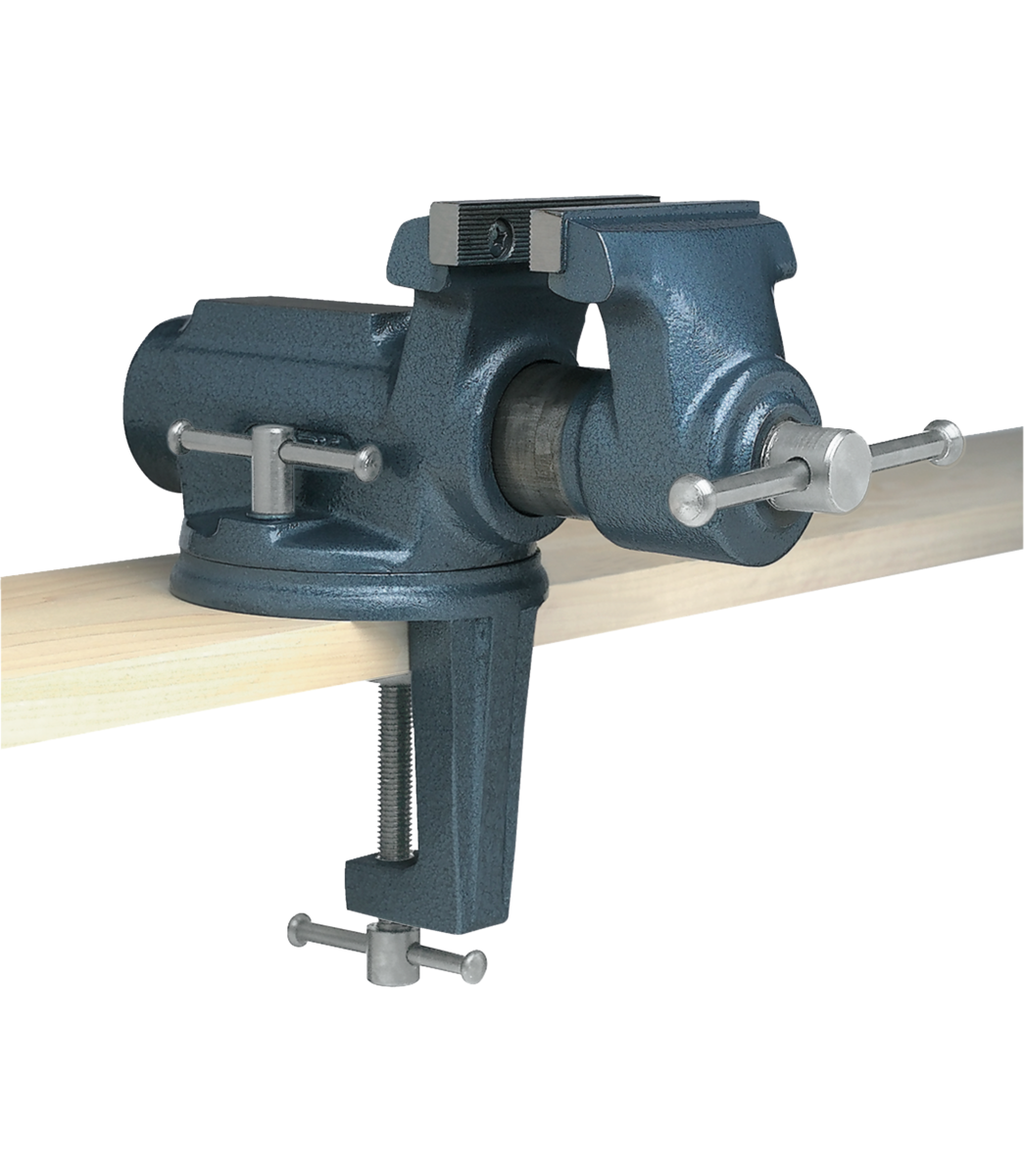 """Manual: CBV-100, Super-Junior® 4"""" Vise with Clamp On Swivel Base"""