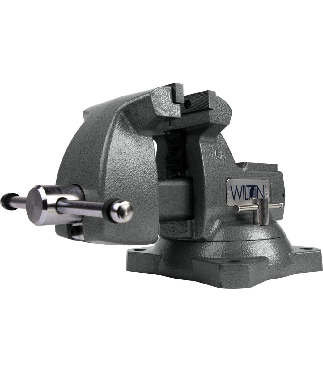 "Manual: Mechanics Vise 5"" Jaw with Swivel Base"