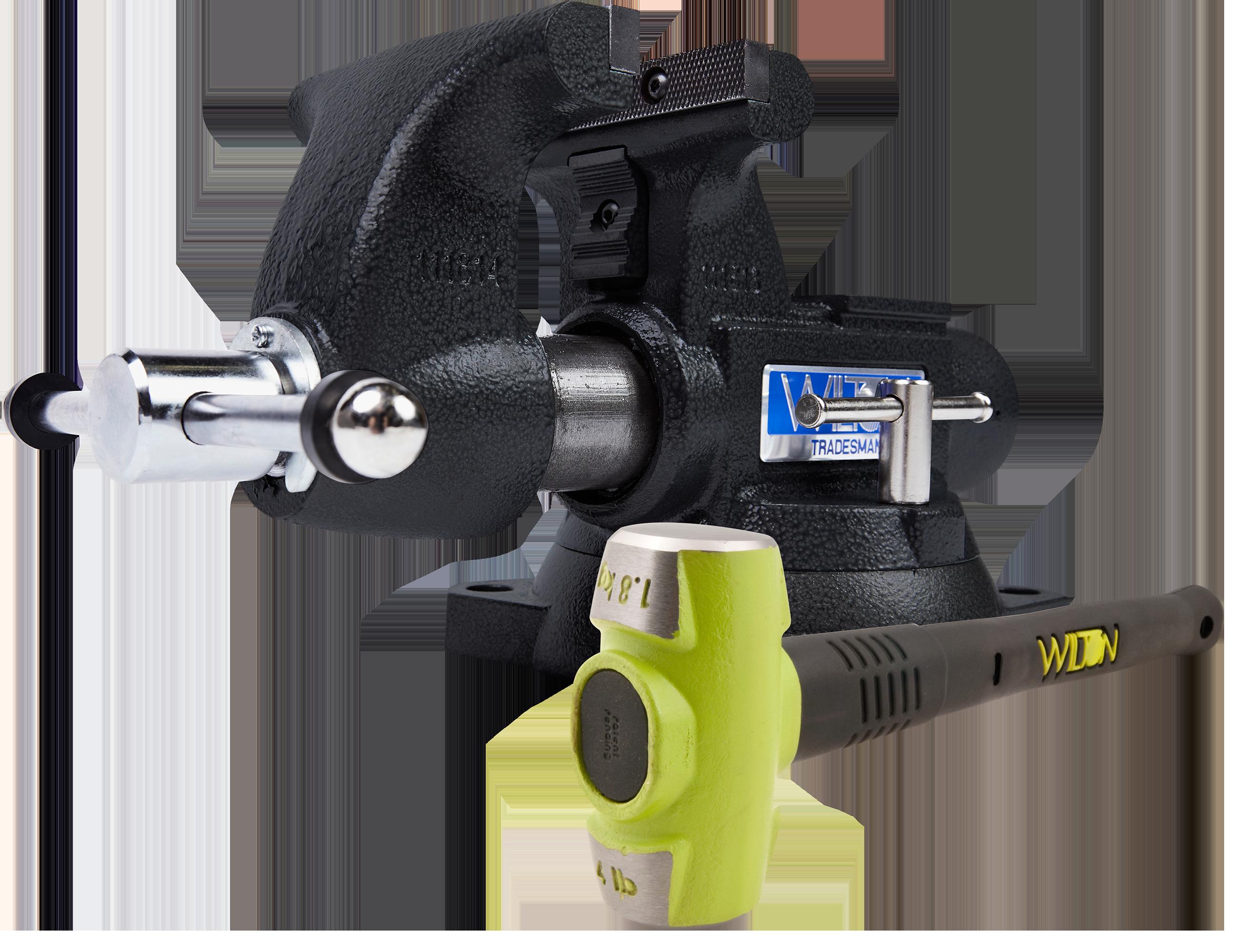 Manual: SE Tradesman 1755 Vise  & B.A.S.H® 20416 Sledge Hammer