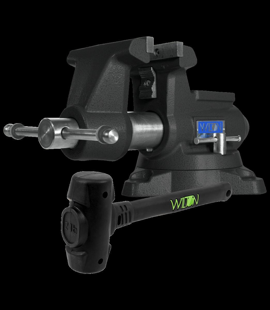Manual: Special Edition Black 855M Mechanics Pro Vise incl. a free 2 lb B.A.S.H. Dead Blow Hammer