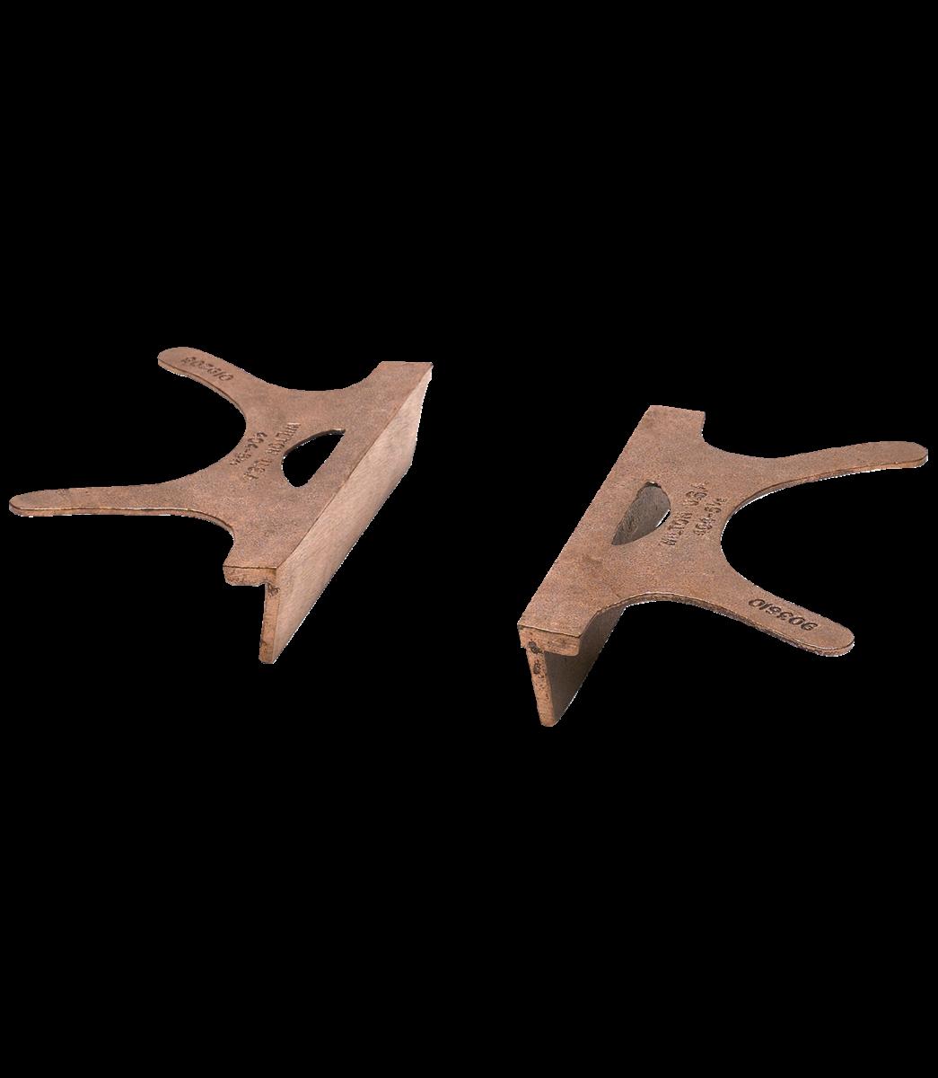 404-6.5, Copper Jaw Caps, 6 1/2