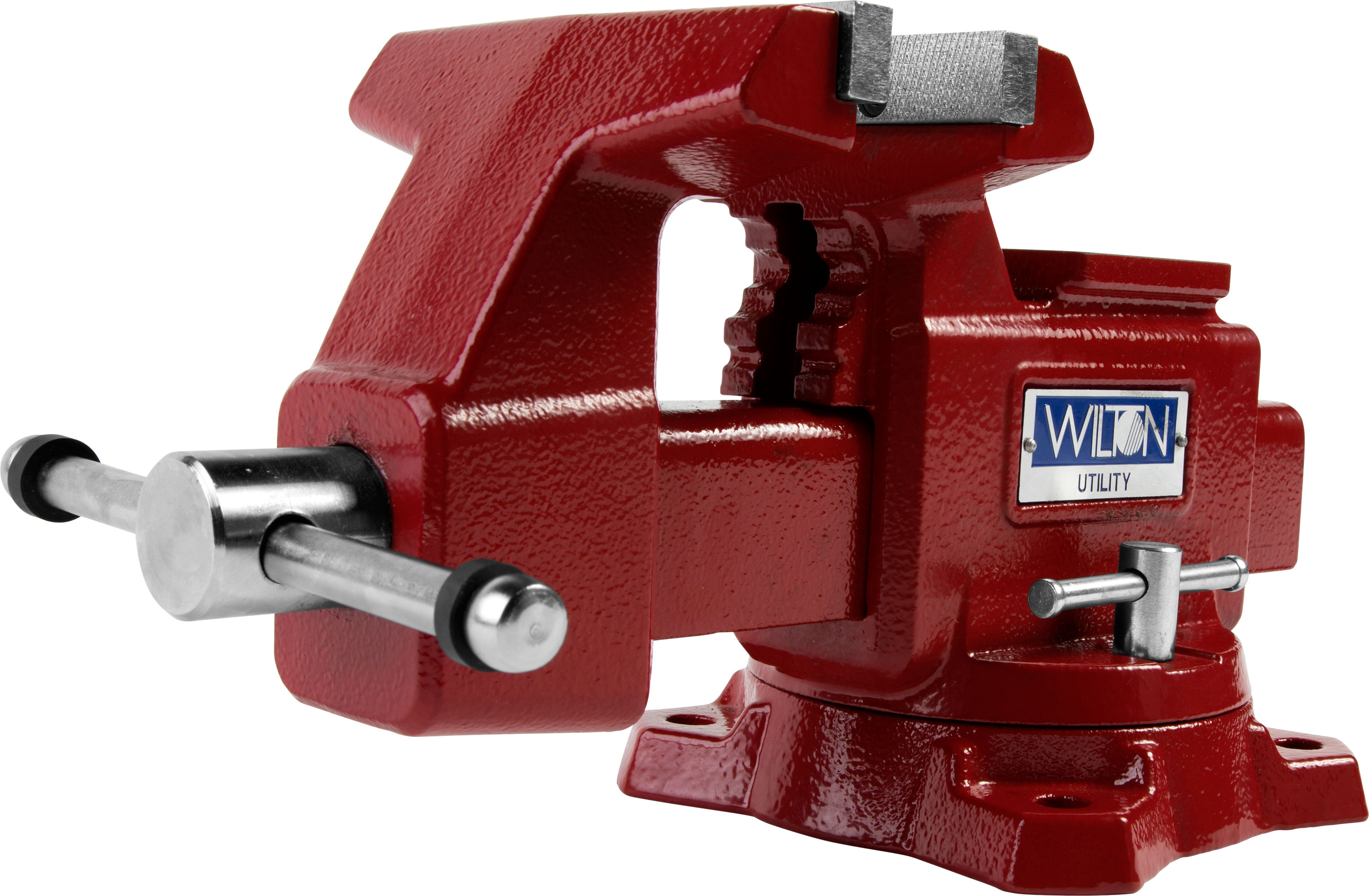 "Manual: Utility Bench Vise 5-1/2"" Jaw Width, 5"" Jaw Opening, 360° Swivel Base"